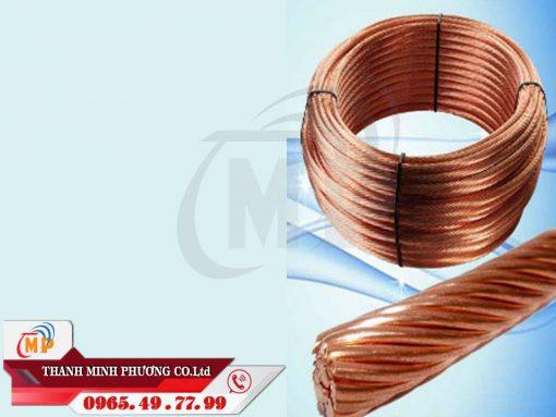 Sản phẩm cáp đồng trần được sử dụng rộng rãi trong mọi công trình