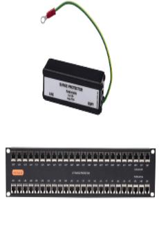 Chống sét bảo vệ mạng máy tính Novaris UTP-RJ45-1PoE