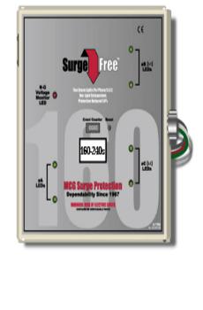 Thiết bị cắt lọc sét 1 pha MCG 160-240S